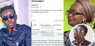 AMG Boss Criss Waddle Offers Daasebre Gyamenah's Wife and Child Help After She Pleaded For Help