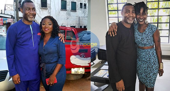 Dr. Lawrence Tetteh's latest photo with Vim Lady spark controversies on Social Media