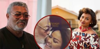 Nana Ama McBrown And J.J Rawlings Exchange Kisses In Latest Video[Watch]