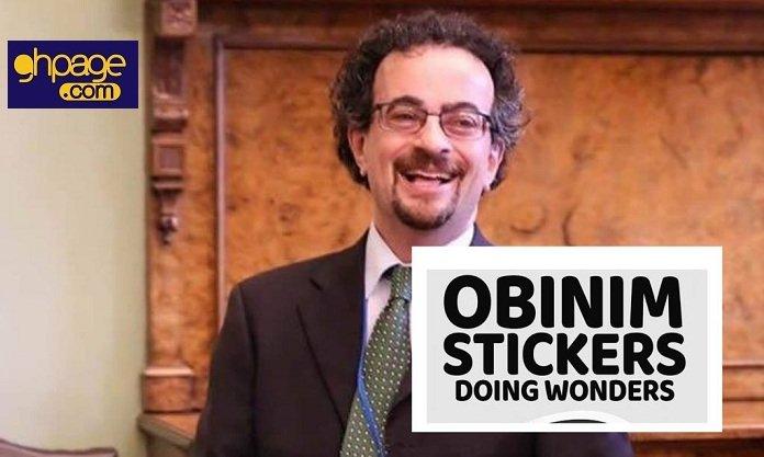 Obinim Sticker Challenge Hit Social Media – Read Some Hilarious Posts [Screenshots]