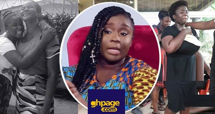 Video: Maame Serwaa reacts to claims that she killed her mother for money