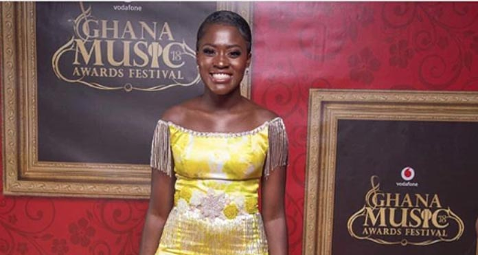 Actress Fella Makafui's Dress To The 2018 VGMA Cost GHS 1000