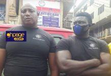 "PHOTOS: NDC Outdoors New Vigilante Group Called The ""The Hawks"" At Kumasi Unity Walk"