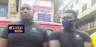 "PHOTOS: NDC Outdoors New Vigilante Group Called The ""The Hawks"" At Kumasi Unity Walk"
