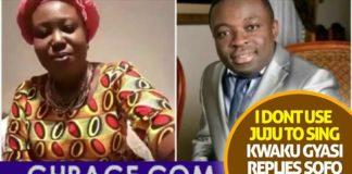 "Hot Audio: ""I Don't Use Juju To Sing"" - Kwaku Gyasi Angrily Replies Sofo Maame Donkor"