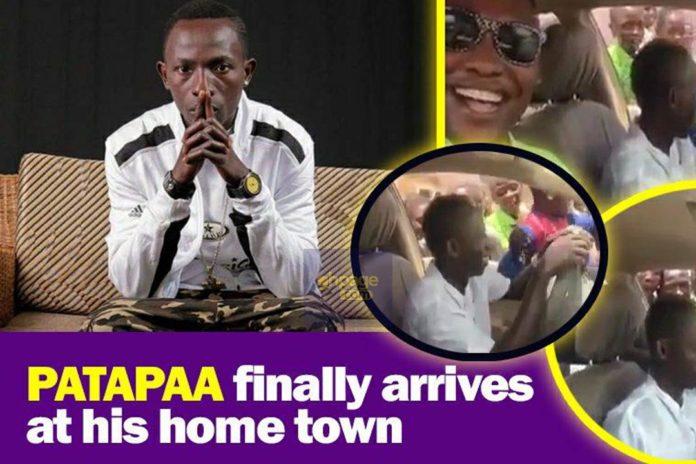Massive Crowd Follows Patapaa At His Hometown (Video)