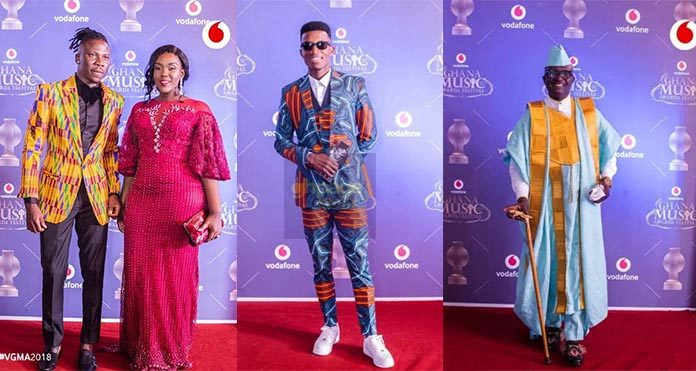 Photos Of What Your Favourite Celebrities Wore To The VGMA 2018