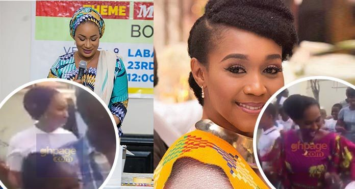 Samira Bawumia And Minister Show Their Dancing Skills With Faunny Face's