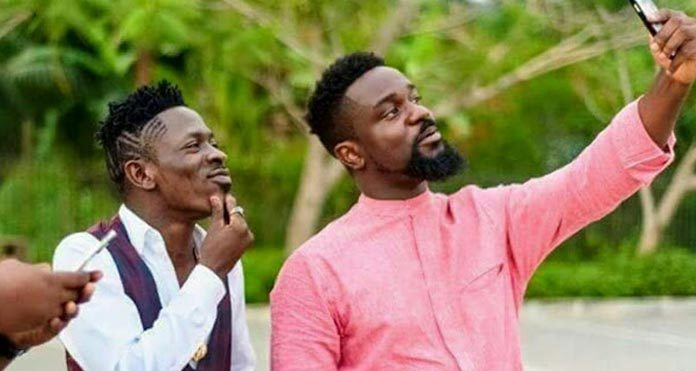 Here Is Why Shatta Wale Failed To Turn Up For Sarkodie's Road Safety Campaign Launch