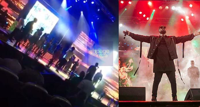 Video: Sarkodie Rehearses For Tonight's VGMA, We All Can't Wait Though