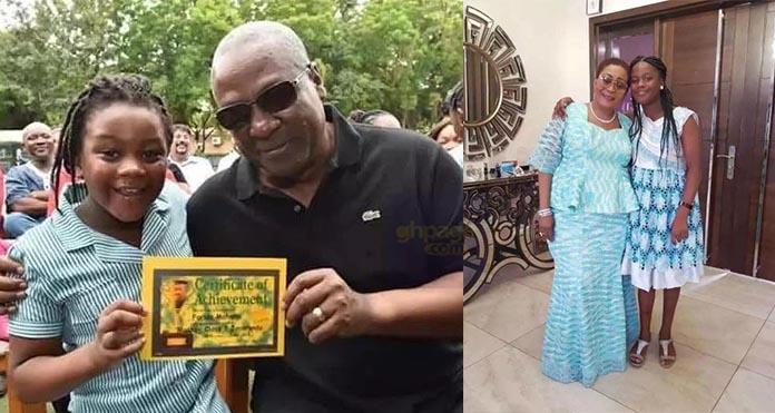 See Photos Of John Mahama's daughter, Farida As She's All Grown Now