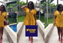 Budding Actress, Serwaa Opoku Addo Of YOLO Fame Sets Social Media On 'Fire' With Stunning Yellow Dress
