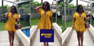 Budding Actress, Serwaa Opoku Addo Of YOLO Fame Sets Social Media On 'Fire' With Stunning Yellow Dress