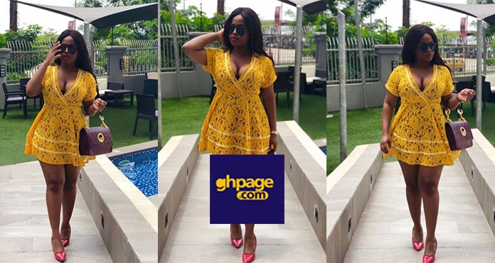 "Budding Actress, Serwaa Opoku Addo Of YOLO Fame Sets Social Media On 'Fire' With Her Well Endowed ""Assets""(Photos)"