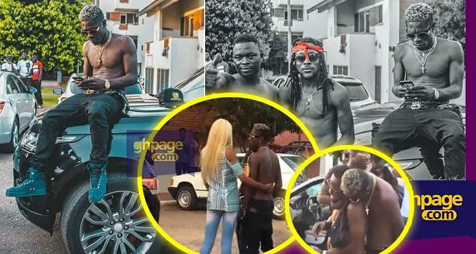 Video: Shatta Wale Takes A Long Convoy To Pent (University Of Ghana) Just To See One Girl