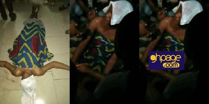 Photos: Slay Queen Goes Mad After Being Dropped Off From A Fast Moving Flashy Car