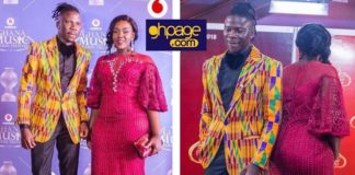Photos: Stonebwoy And Wife, Louisa Voted The Best Well Dressed Couple At The VGMA 2018