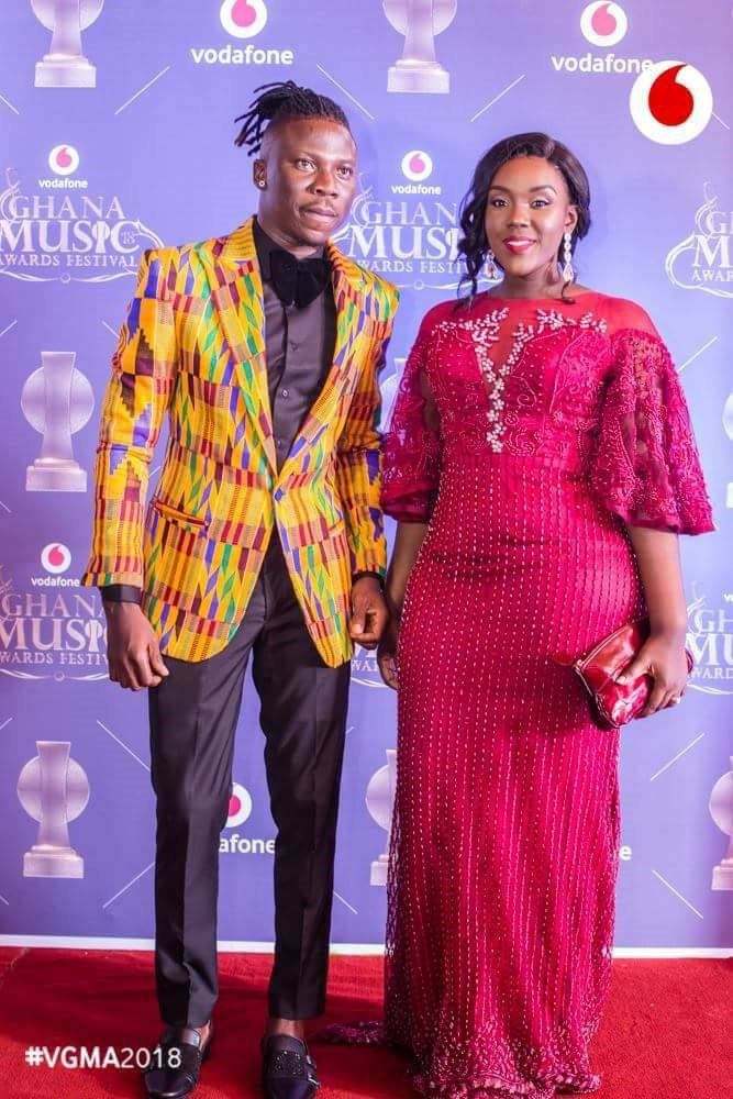 Stonebwoy and wife 1 - Stonebwoy's wife Dr. Louisa finally speaks on the VGMA 2019 brouhaha