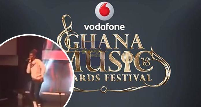 Video: Watch Stonebwoys' Energetic Perfomance At The 2018 VGMA