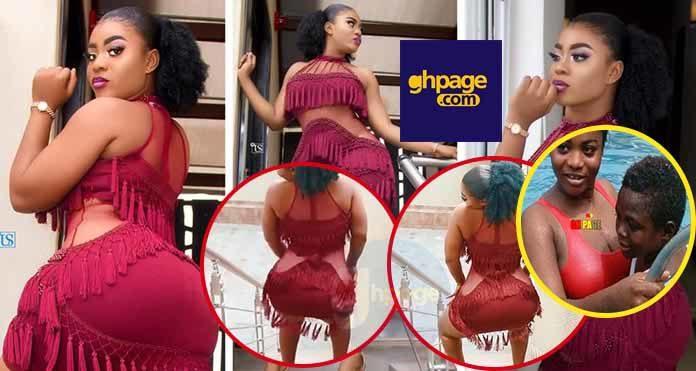 A video of Yaw Dabo's Tundra girlfriend Vivian Okyere twerking takes the internet by storm - It's her birthday