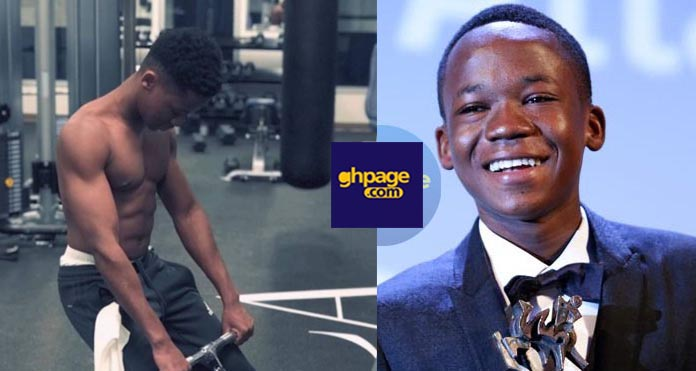 Actor Abraham Attah Shows Off His Fresh '6 Pack' To Entice Girls In Latest Photo
