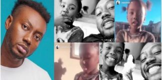 Rapper Pappy Kojo show off his adorable daughter (Photos)