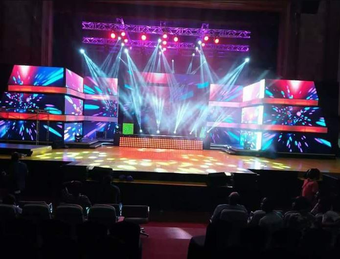 VGMA 2018: Preparations Underway At The AICC - See Photos