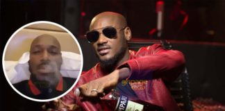 Video: Nigerian Singer 2Face( 2Baba ) Smokes Marijuana Live On Camera