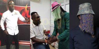Photos: Countryman Songo Finally Meets Anas Aremeyaw Anas