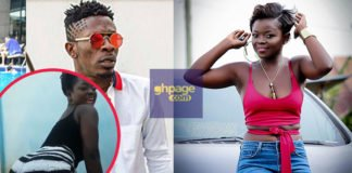 Video: Shatta Wale's New Girlfriend Caught Showing Serious Twerknig Skills