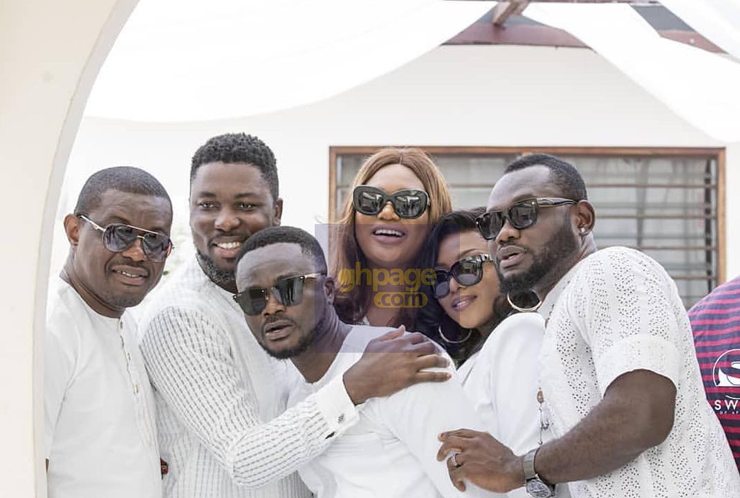 Photos: What Your Favourite Actors And Actresses Wore To John Dumelo's Traditional Marriage Ceremony