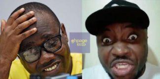 Video: Watch DKB's Hilarious Reaction To Kwesi Nyantakyi's Arrest