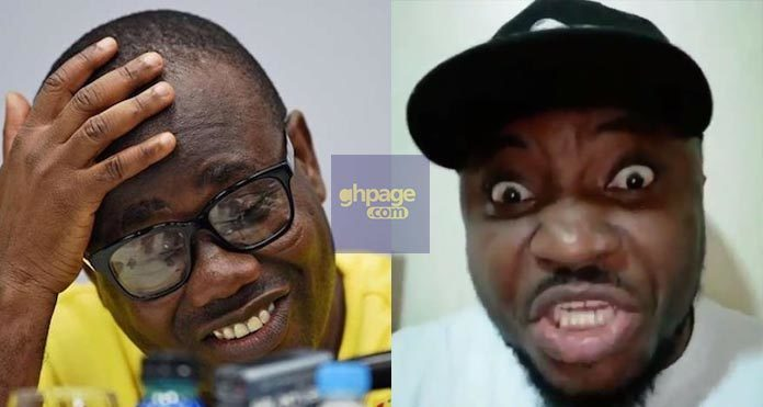 Video: Watch DKB's Hilarious Reaction To Kwesi Nyantakyi's Arrest