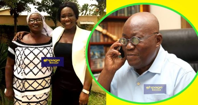 Social Media User Blames President Akuffo Addo As Ebony Mother Picture Is Posted Online On Mother's Day