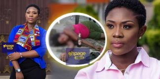 Video: Did You Know Emelia Brobbey Despite Her Holy Posture Is A Drunkard? Another Actress Exposes Her