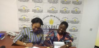 Fella Makafui Inks A Mega One-Year Contract With Davies Palace And Spa