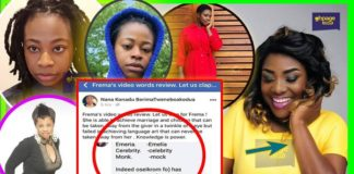 Ghanaians Ridicule Fremah For Mocking Emelia Brobbey In A Bad Language