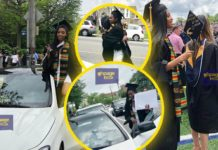 Family Gift Daughter A Brand New Mercedes Benz Car After Graduating From the University With First Class