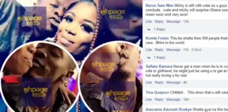 Screenshots: How Social Media Users Reacted To Shatta Wale Kissing A Slay Queen To Mock Michy On Her Birthday