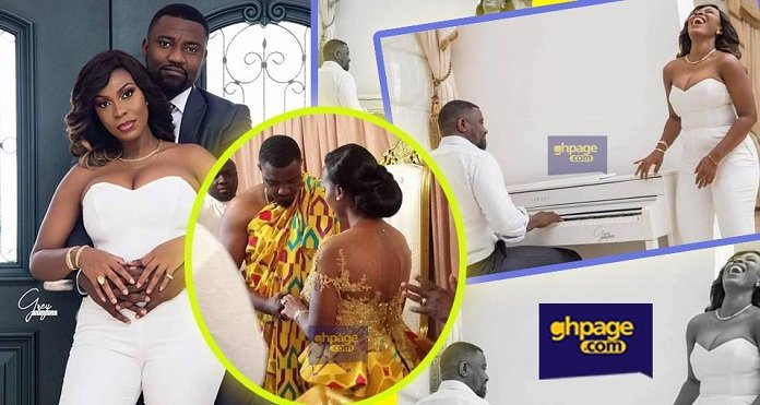 John Dumelo and wife to have white wedding on May 11th
