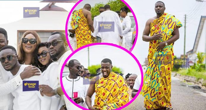 Ghanaian celebrities spotted and More Photos from John Dumelo engagement ceremony