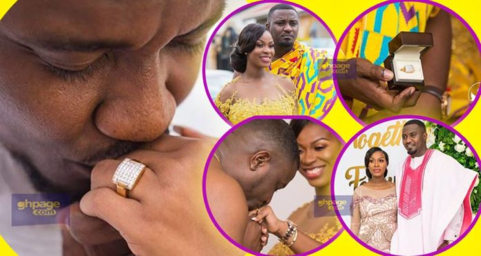John Dumelo is reported to have spent about GHC15,000 on wife's ring
