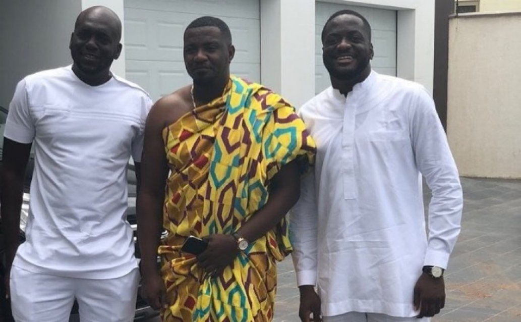 First Photos From John Dumelo's Wedding Ceremony