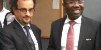 Former UK High Commissioner To Ghana Jon Benjamin Trolls Kwesi Nyantakyi