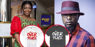 "KOD Releases ""All Over The Place"" Designer T-Shrit To Mock Yvonne Okoro(Photos)"