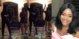 Video: Actress Kafui Danku And Mum Dance Their Heart Out As They Battle Each Other On 'Akwaaba Dance Challenge'