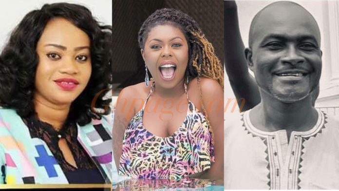 Afia Schwar Reacts To Ken Agyapong's Baby Mama, Stacy's Sudden Death At Obengfo Clinic