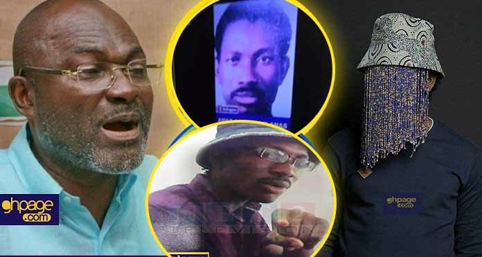 Kennedy Agyapong shares pictures of Anas Aremeyaw Anas