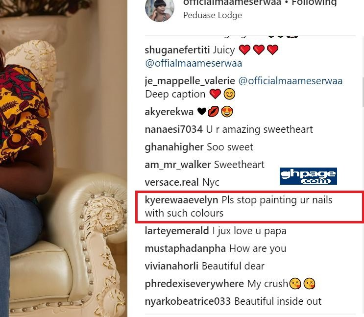 maame serwaa under attack for her looks and fashion sense in latest