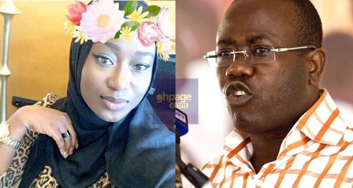 Kwesi Nyantakyi's Beautiful 23-Year-Old Second Wife Must Be The Most Tearful Woman Right Now